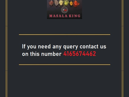 If you need any query contact us on this number 4165674462.