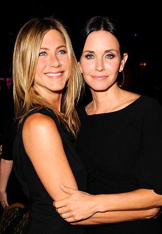 Jennifer Aniston Courteney Cox love CACI Facial