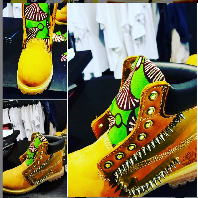 Custom Timberlands Boots