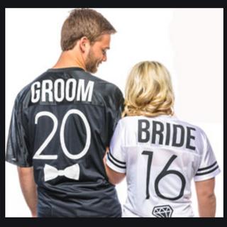 Bride & Groom Shirt Print