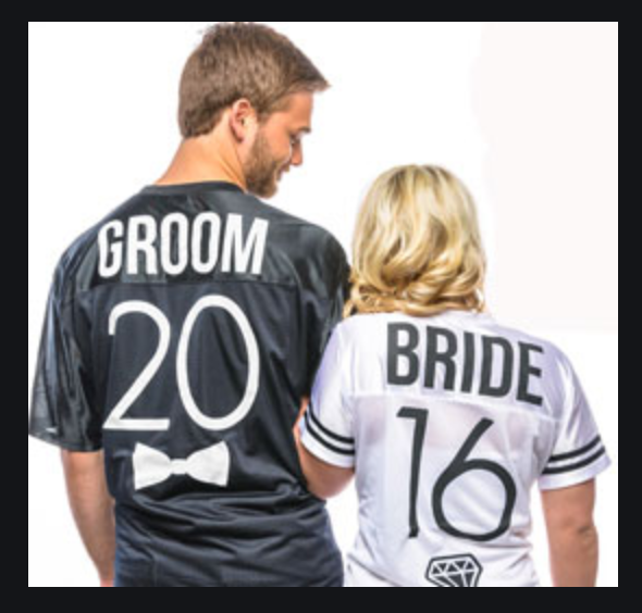 Bride & Groom Shirt Print