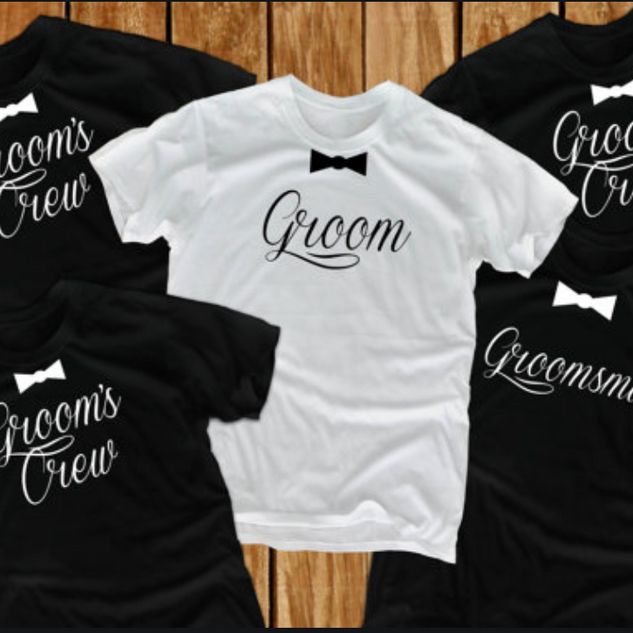 Bridal Party Custom Shirts