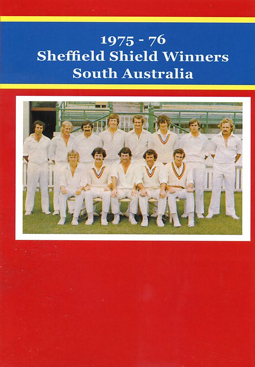 1975-76 Sheffield Shield Winners