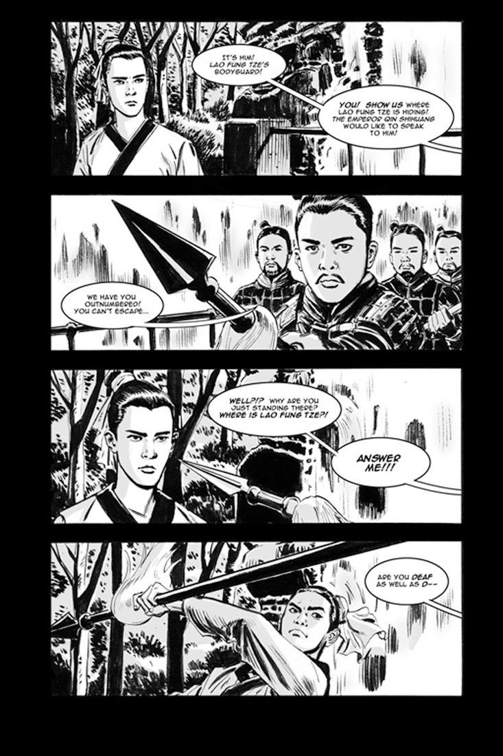 Silent Swordsman (Page 2)