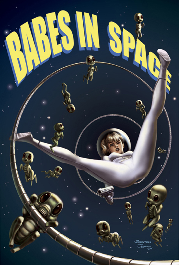 Babes In Space (Cover)