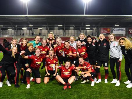 Manchester United Women secure promotion to Women's Super League