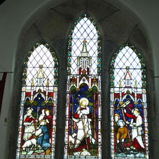 Stained Glass in St Peter's