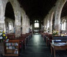 Inside St Keverne Church