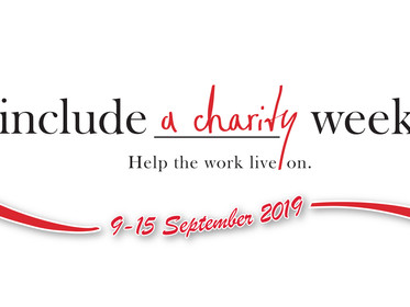 Include a Charity Week (9-15 September)