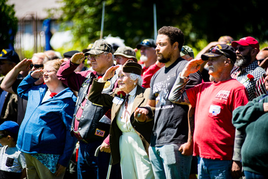 Memorial Day Event at Allyn Waterfront Park.