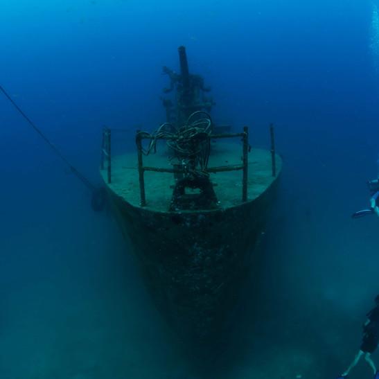 Shipwreck in Thailand