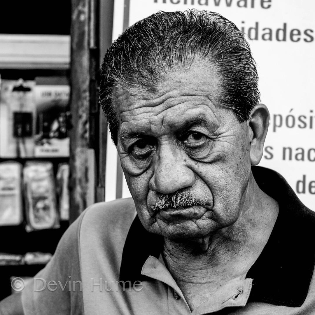 Elder in Peru