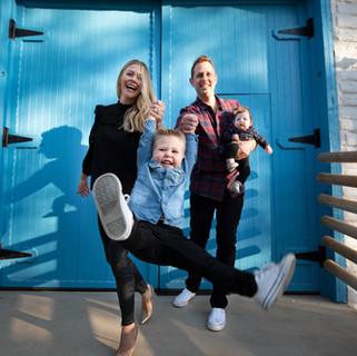 James Family Photo