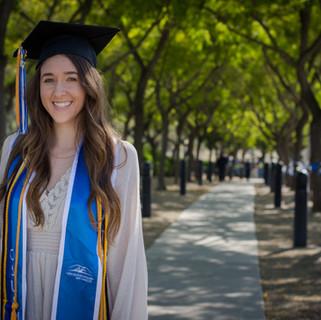 Bella Graduation Photo