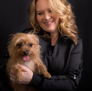 Headshot of Dog and Owner