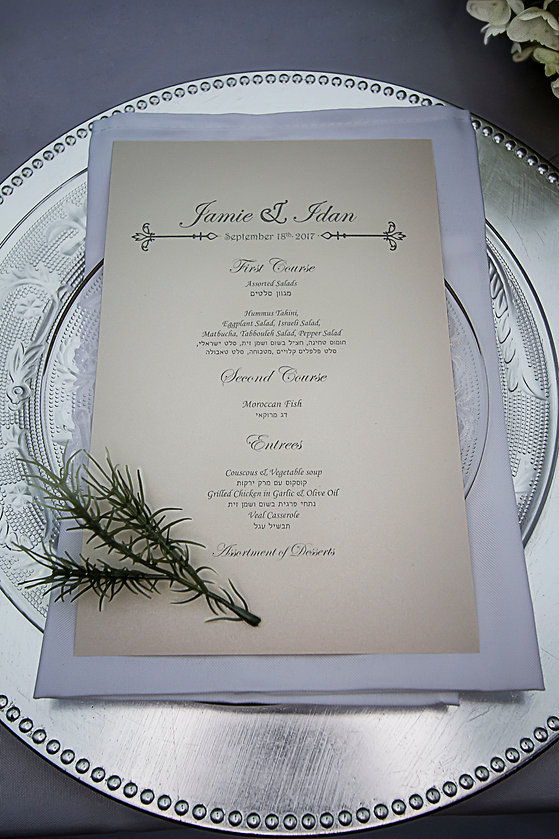 Wedding invite on plate - Wedding photgraphy - Wedding photographer