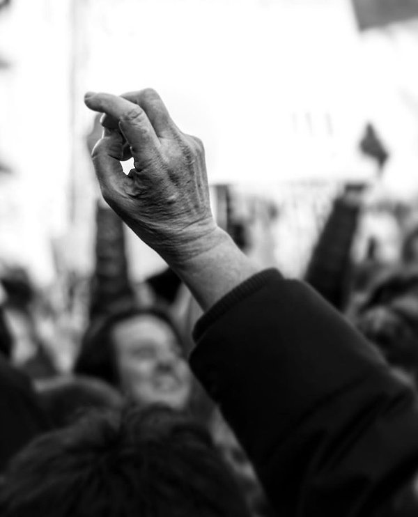 NYC Protests - Black and White photography - Street photography