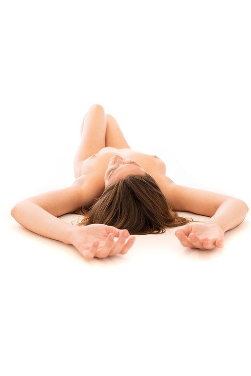 Woman laying down - Fine Art Photography - Samantha Light - Body study
