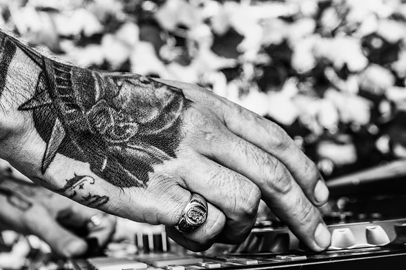 Tattoo - Hands - DJ