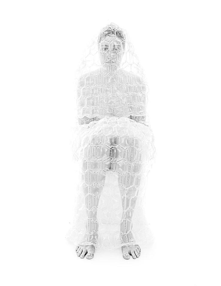 Model wearing white t shirt - Fashion photography - NYC