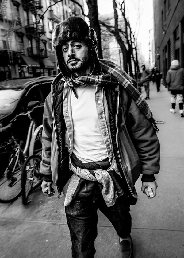 NYC - Fashion - T shirt - NYC Fashion photography