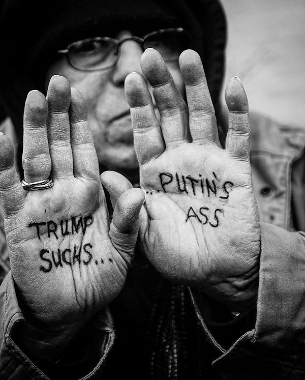 NYC Protests - Street photography - Black and White