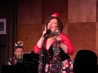 With John Bowen in Dear Santa at Davenport's Cabaret and Piano Bar, Chicago
