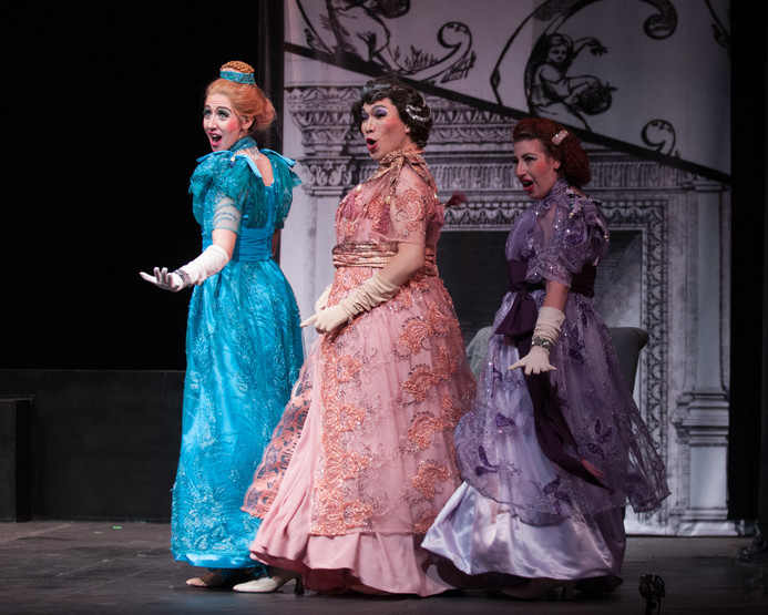 Cendrillon Peabody Opera Theatre  Photo bvy Edward S. Davis
