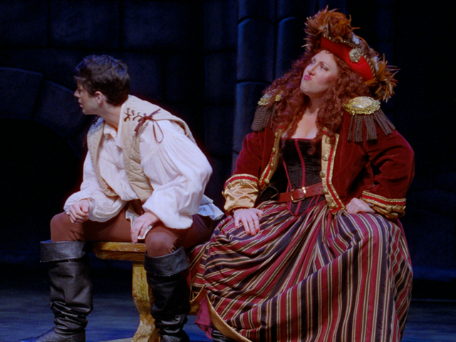 As Ruth in Pirates of Penzance for Young Victorian Theatre Company