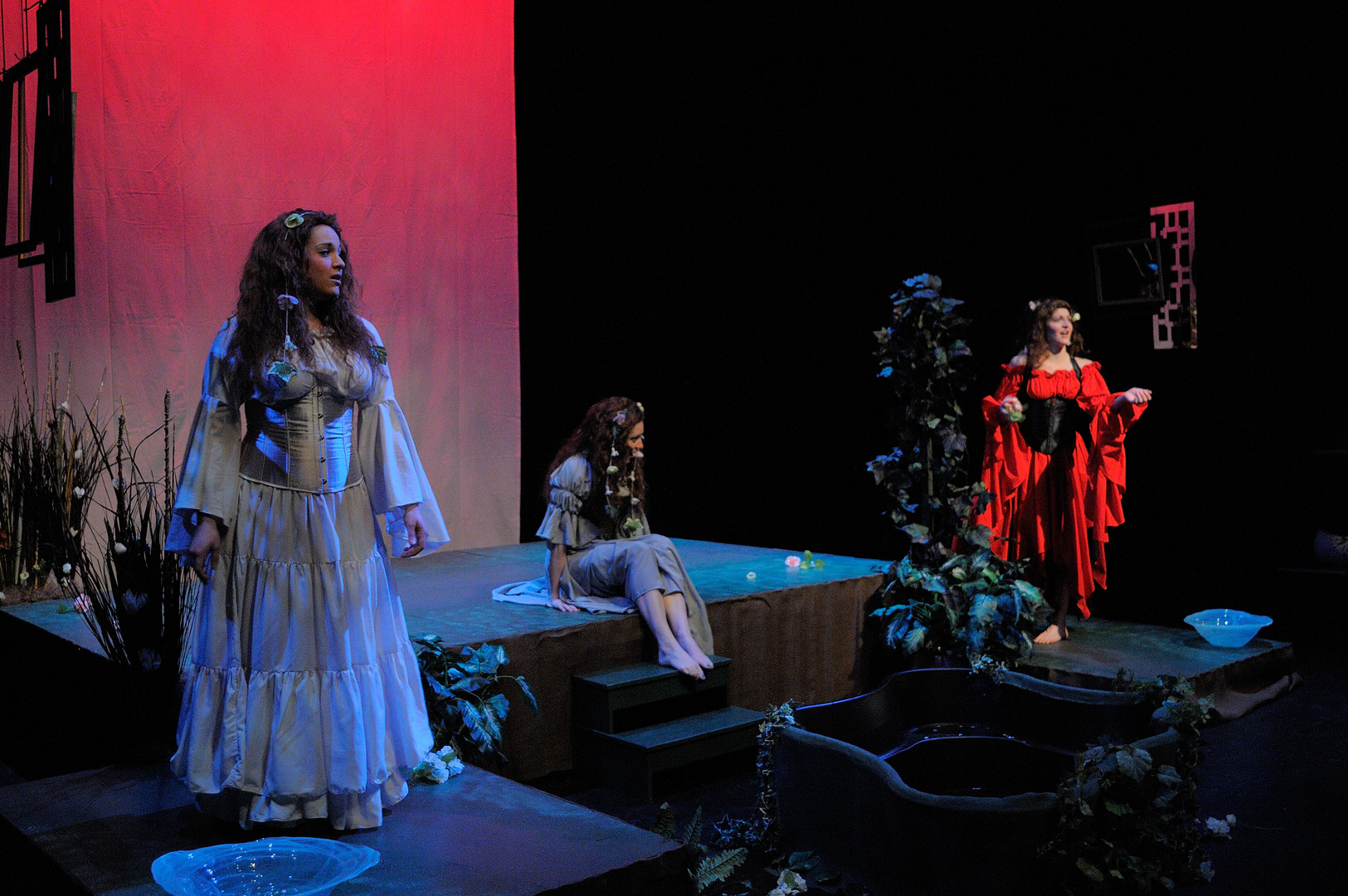 Ophelia Forever by Amy Beth Kirsten Peabody Chamber Opera (Stage Director and Set Designer)  Photo by Edward S. Davis