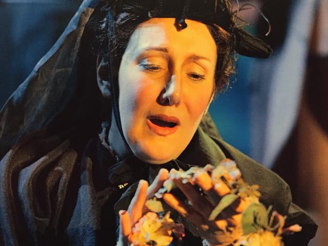 As Mrs. Herring in Albert Herring for Opera Vivente Photo by Cory Weaver