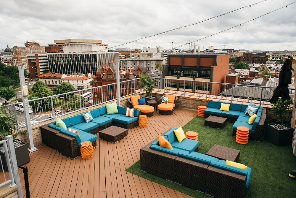 The Rooftop at The Embassy Row Hotel