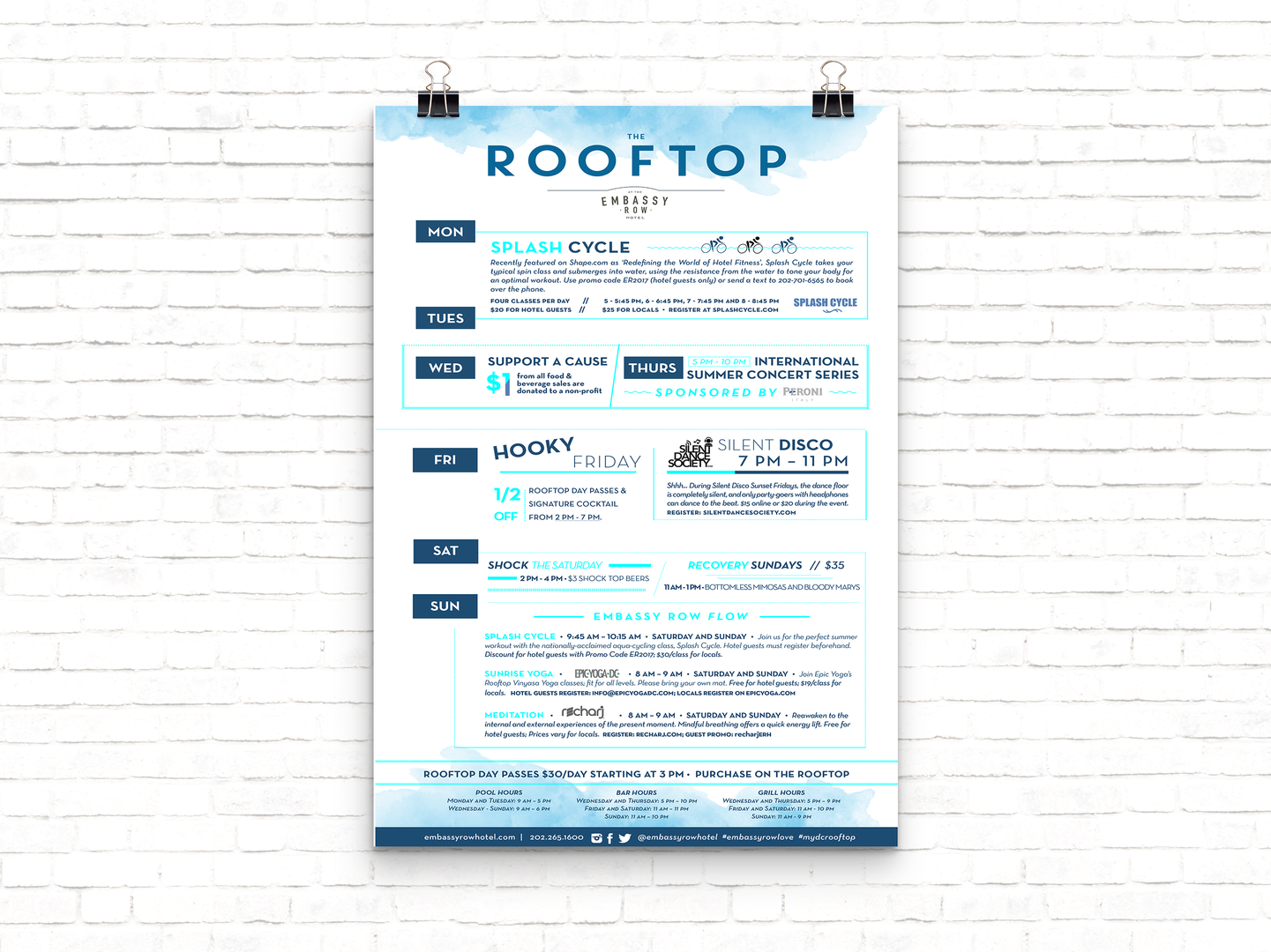 The Rooftop Programming Poster