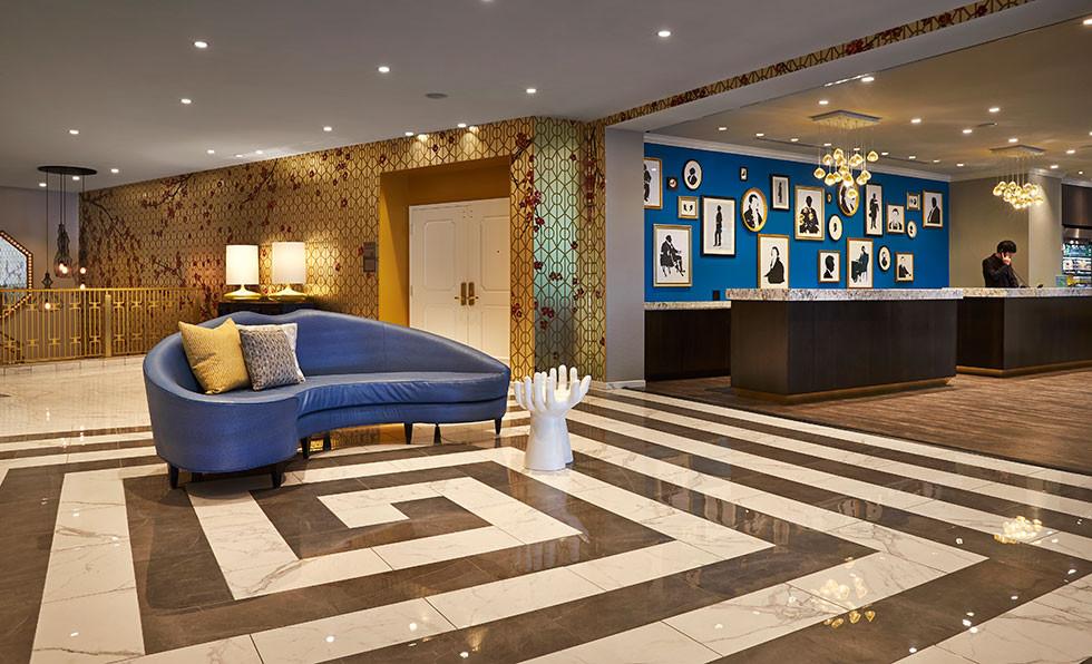 The Embassy Row Hotel Lobby
