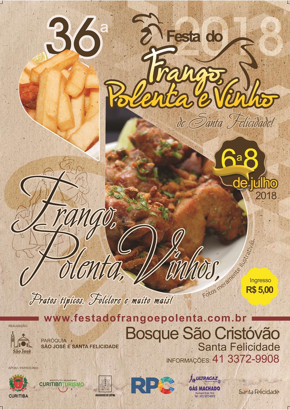 Festa do Frango, Polenta e Vinho
