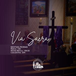 Na Quaresma, participe da Via Sacra