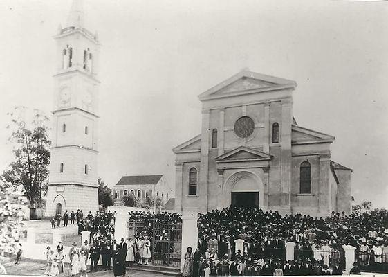 Inauguração da nova fachada - Igreja Matriz de São José, Santa Felicidade