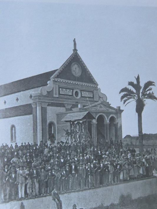 Inauguração da Igreja de São José em Santa Felicidade - Natal de 1891