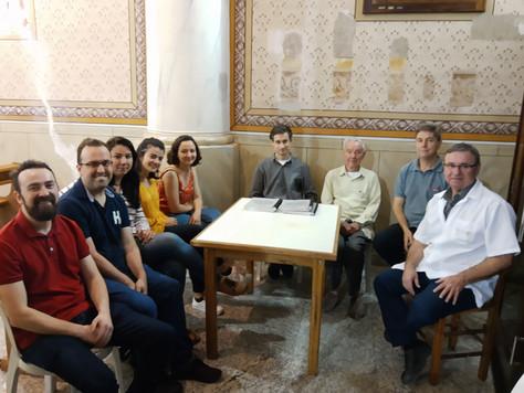Equipe do IPHAN conhece trabalho de Restauração da Igreja de Santa Felicidade