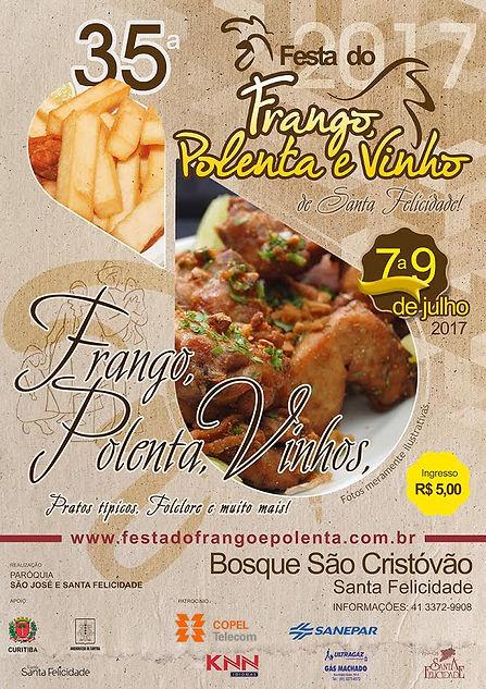 Festa do Frango, Polenta e Vinho de Santa Felicidade 2017