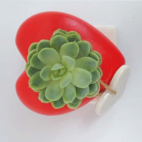 Cuoricino di ceramica