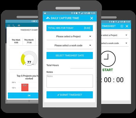 mobile timsheet