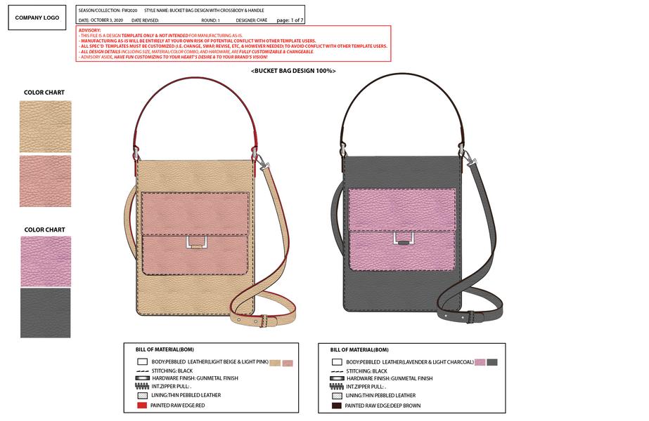 Bucket bag design
