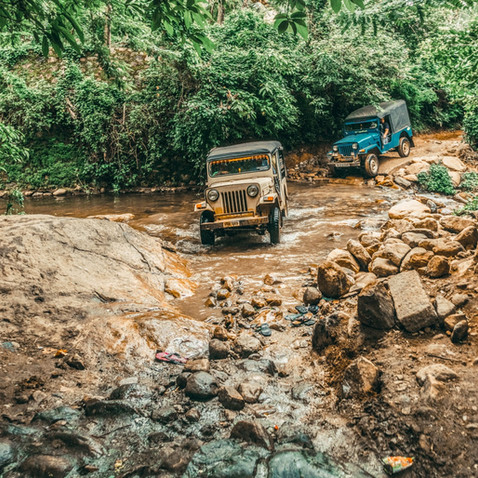 Jeep Safari - Extra package