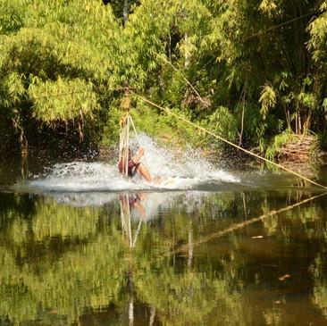 Splash Zipline