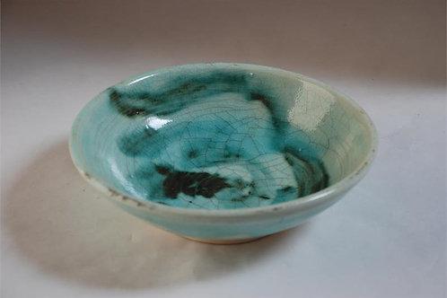 Crackle porcelain bowl