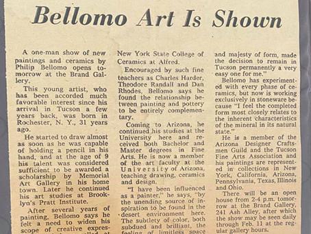 Bellomo Art Is Shown