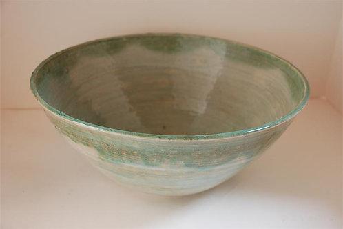Crackled glaze bowl