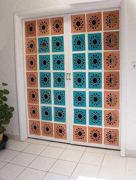 Middle Eastern Arabic tiles used as a door.jpg