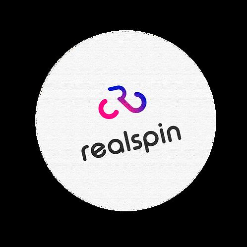 realspin sticker